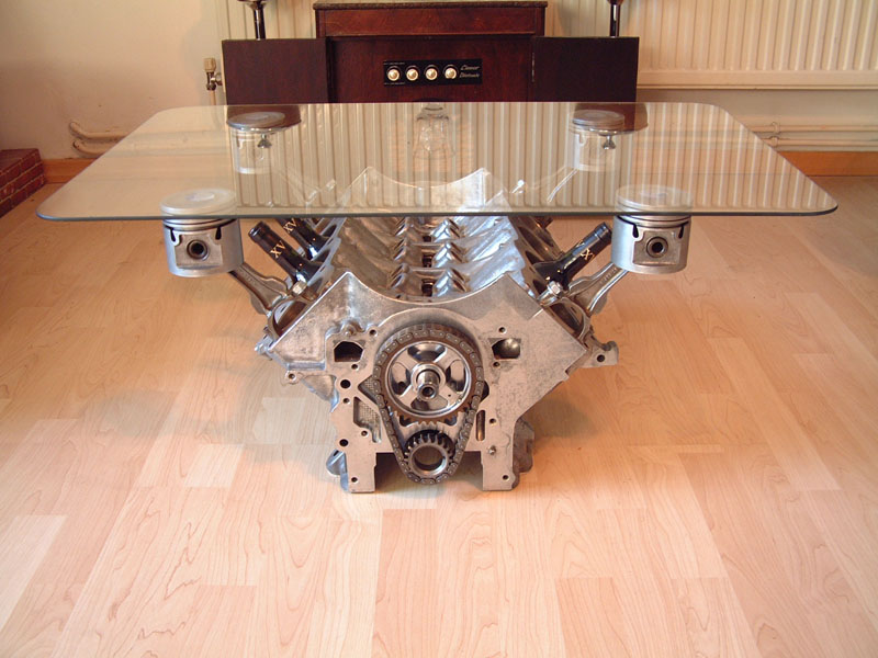 scrapiture rover v8 coffee tables. Black Bedroom Furniture Sets. Home Design Ideas